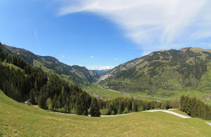 Ausblick in Richtung Klammstein