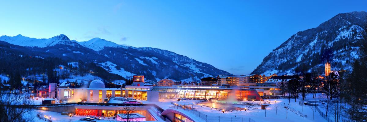 Die Alpentherme im Winter