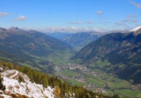 Ausblick auf Bad Hofgastein Richtung Norden