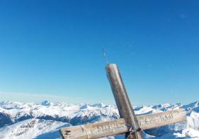 Am Gipfel vom Silberpfennig angekommen!