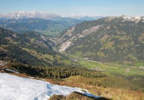 Ausblick vom Tagkopf Richtung Klammstein und weiter...