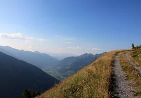 Blick vom Patschgstuhl Richtung Bad Hofgastein