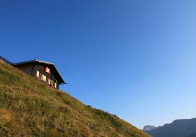 Die Eisenbahnerhütte am Patschgstuhl