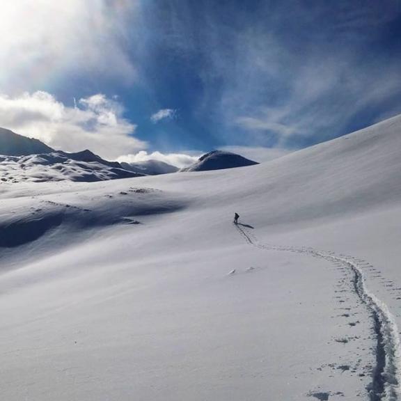 #skitouring in #gastein #angertal #visitgastein #kalkbretterkopf 2.412m #winterwonderland #winter is here #snow #powder #mountains #wanderlust #bluesky #sunshine #cold #greatday