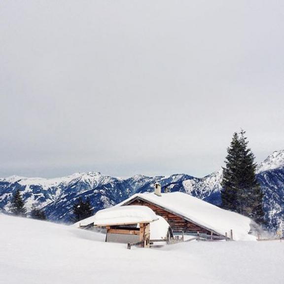 Эта зима на удивление началась очень снежной #badhofgastein #gastein #schlossalm