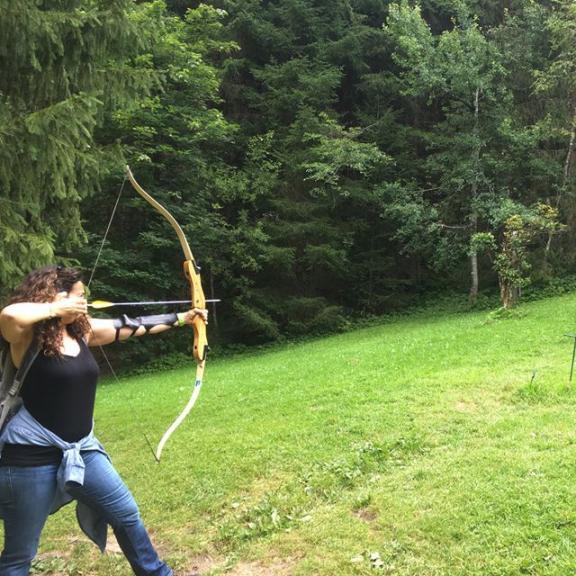 #archery #summer2017 #familyvacation #outdoorfun #austria #badhofgastein #angertal Very sporty family 😂😂😂