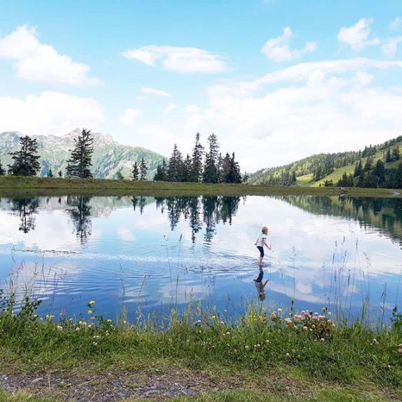 #spiegelsee #fulseck #gasteinertal #dorfgastein #urlaubinösterreich #bergliebe #wandernmitkindern
