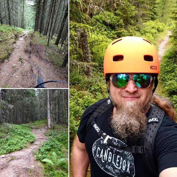 Trail time! #gastein #visitgastein #helidus #salzburgerland #trail #mountainbike #enduromtb #evoc #abus #candlebox #bikegastein #flyerbikes #flyerbike #mtbgastein