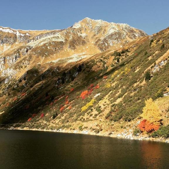 #Gastein #Bockhartsee #autumn #mountain #kur #indiansummer #qualitytime #hiking #sport #sea #loveit #austria
