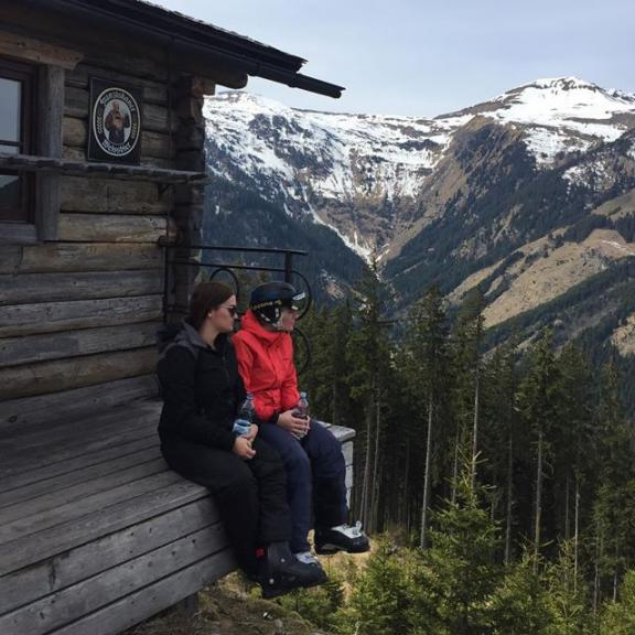 #Ski #view #holidays #sister #österreich #schnee #angertal #haveabreakhaveakitkat