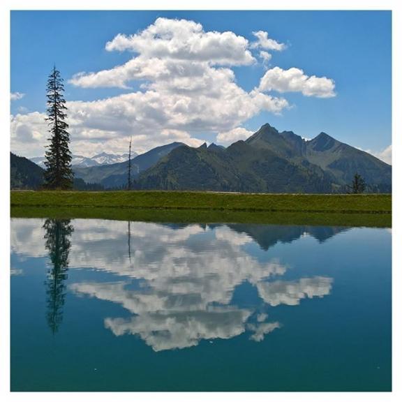 Der #natur auf der Spur 😊  #spiegelsee #fulseck im #sommer2018 #dorfgastain #fulseckbahn #almorama #gastainertal