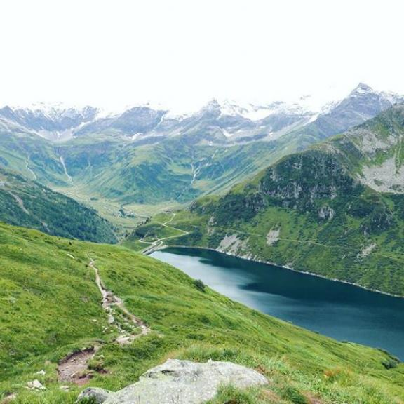 🗻🗻🗻 #alps #mountains #austria #hiking #trail #lake #bockhartsee #nature #powerofnature #l4l #picoftheday #colourfull #alpy #rakousko #hory #prazdniny #followme #amazing