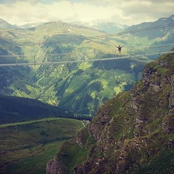 #badgastein #stubnerkogel #alpen #hängebrucke #view #2251 #austria #österreich  #bergen #mountains