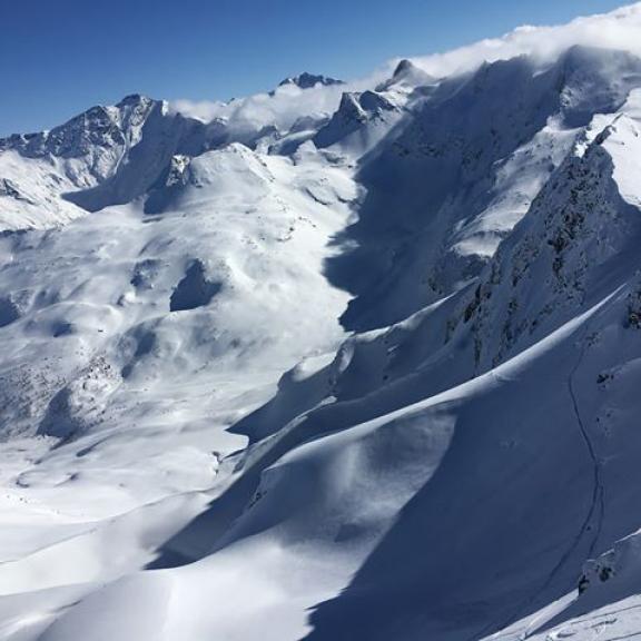 neskutečný 💎💙❄️ #azuro #nofilterneeded #snow #mountains #alpen #austria #ski #sportgastein