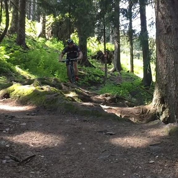 Det er nu altså bare sjovt at køre ned af #stubnerkogel #badgastein #cannondale #mtbgastein