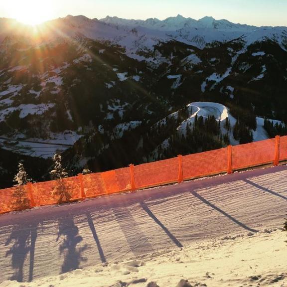 Sonnenabfahrt #skiing #fulseck #dorfgastein #afternoon #sunset #salzburg #holidays