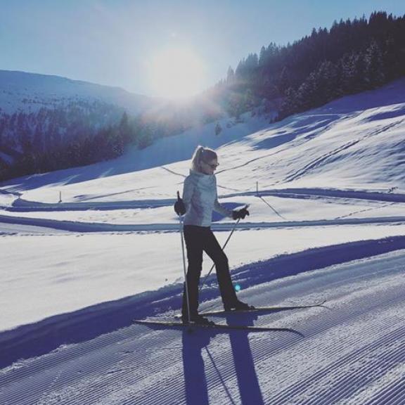 #winterwonderland #sunshine ❄️ snow🐰#badhofgastein #angertal #crosscountryskiing