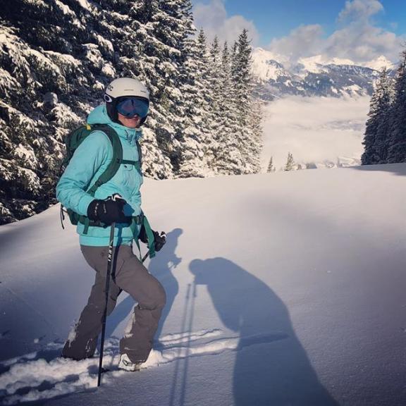 #morning #freeride #graukogel #badgastein #ski #skiamade