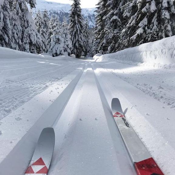 Eventuell hab ich einen neuen Lieblingssport gefunden ❄️ #neuesjahrneueshobby #langlauf #crosscountryskiing #winterwunderland #visitgastein #angertal