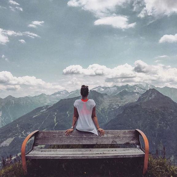⛰👌🏼🌲☀️🌸😍 #stubnerkogel #mountains #sunnyday #beautifulnature #austria #horses #amazingsight