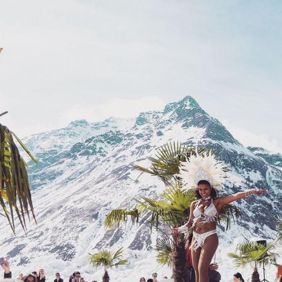 #alpinecarribean #palmenaufdenalmen #sportgastein #skiandsun #springski #skigastein
