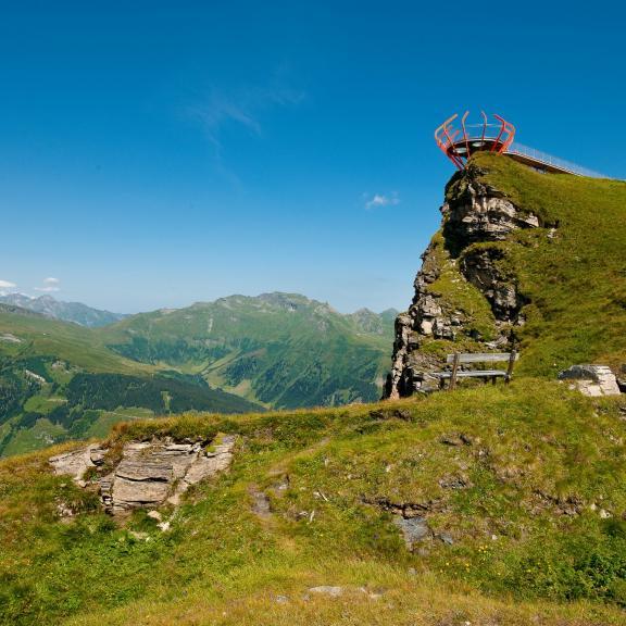 Aussichtsplattform Glocknerblick am Stubnerkogel