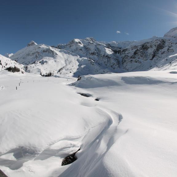 Zauberhafte Winterlandschaft in Sportgastein