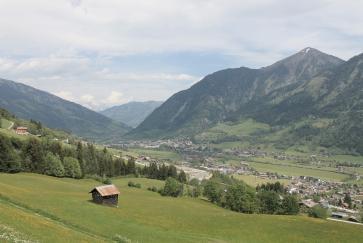 Am Weg zum Bertahof Trail