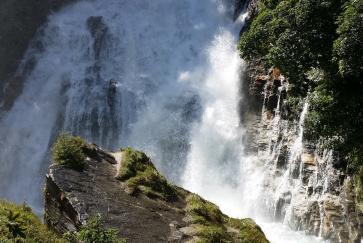 Unterhalb des Bad Gasteiner Wasserfalls